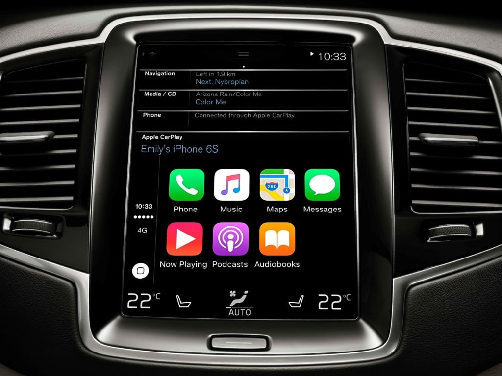 r link 2 android auto et apple carplay arrivent gps carminat. Black Bedroom Furniture Sets. Home Design Ideas
