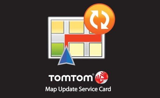 Map update service