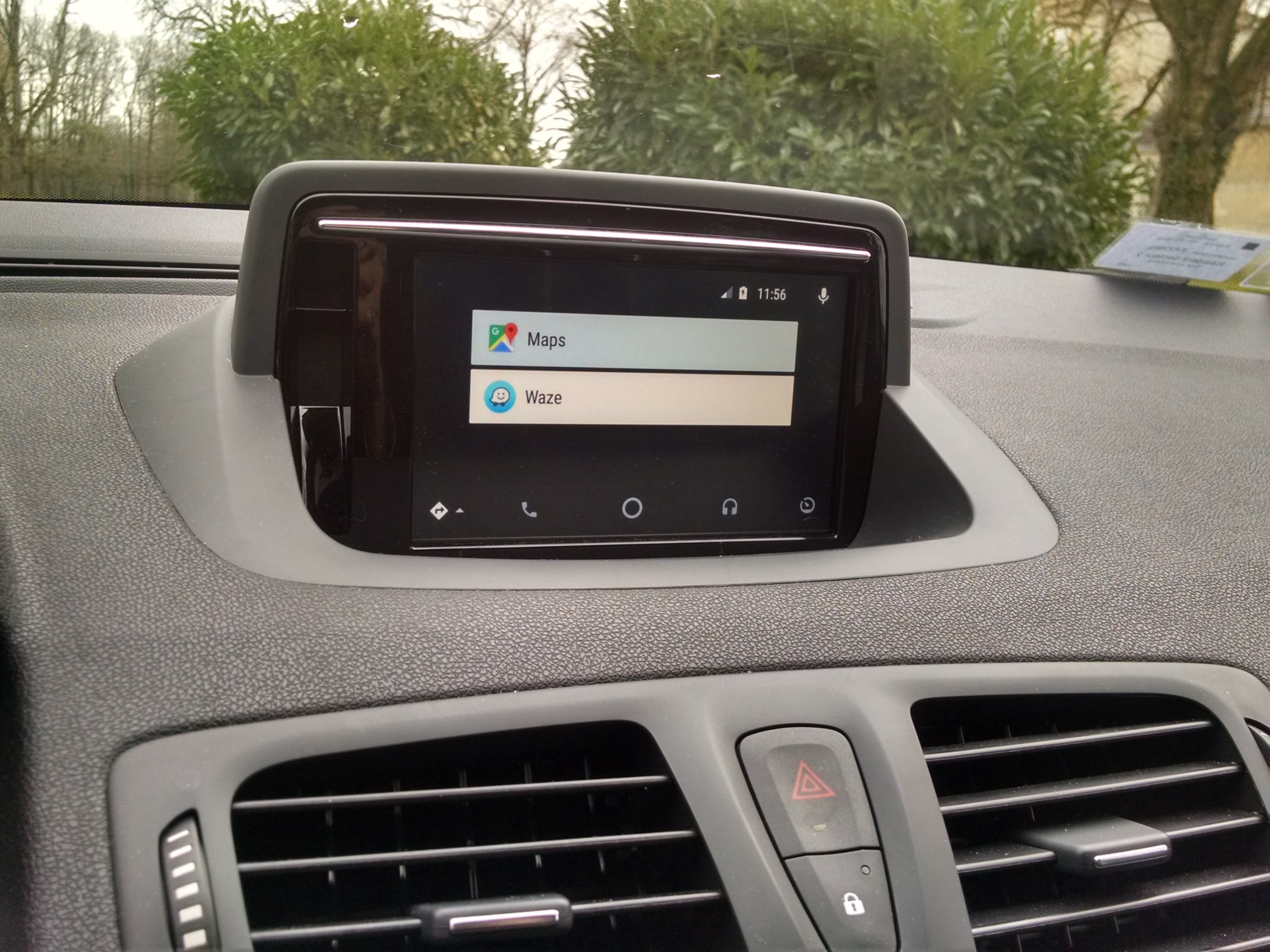 installer android auto waze sur r link 1 gps carminat. Black Bedroom Furniture Sets. Home Design Ideas